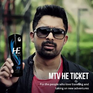 MTV He Ticket