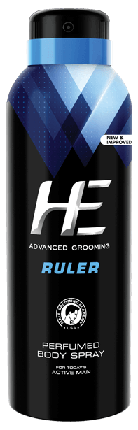ruler body spray by he advanced grooming