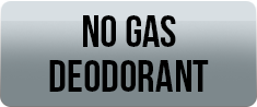 no gas deodorants